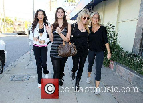 Brittny Gastineau, her mother Lisa Gastineau and cast...