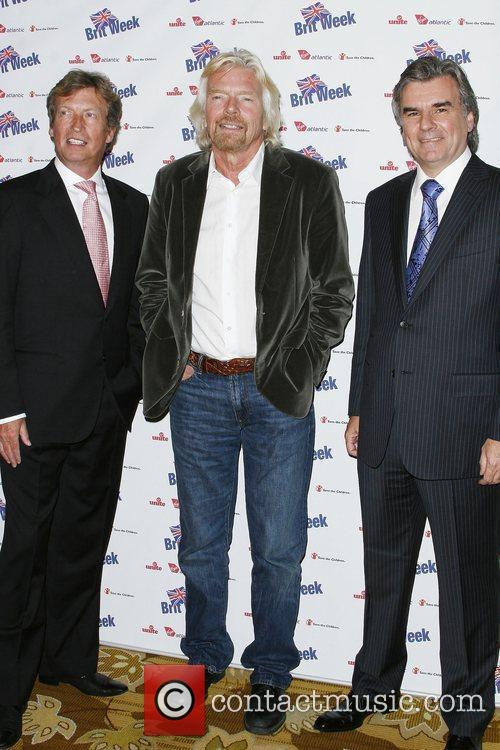 Nigel Lythgoe, Sir Richard Bronson and Bob Pierce...