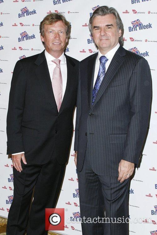 Nigel Lythgoe and Bob Pierce