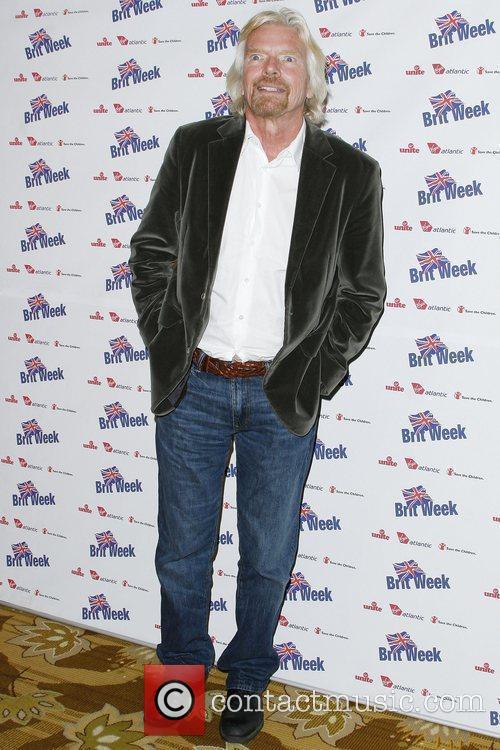 Sir Richard Branson  BritWeek 2010 Charity Event...