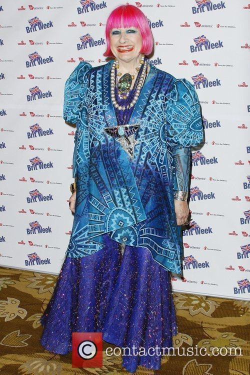 Zandra Rhodes BritWeek 2010 Charity Event held at...