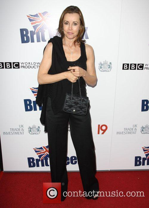 Alex Donnelly Champagne Launch of BritWeek at the...
