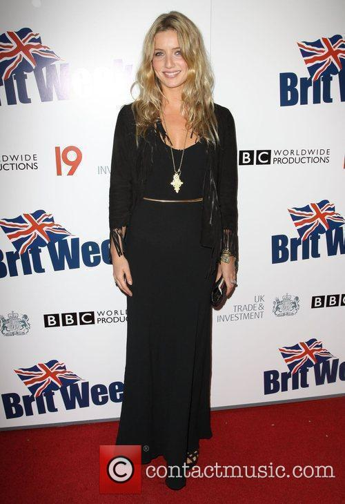 Annabelle Wallis Champagne Launch of BritWeek at the...