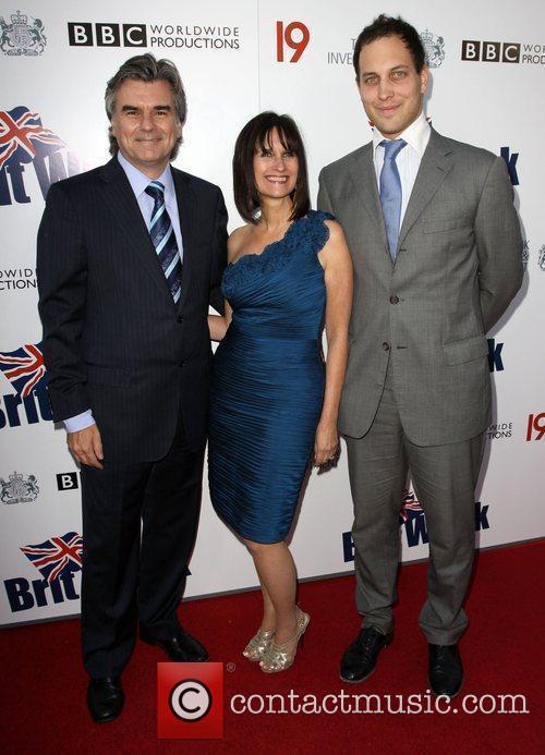 BritWeek Chairman Bob Peirce, His wife and Lord...