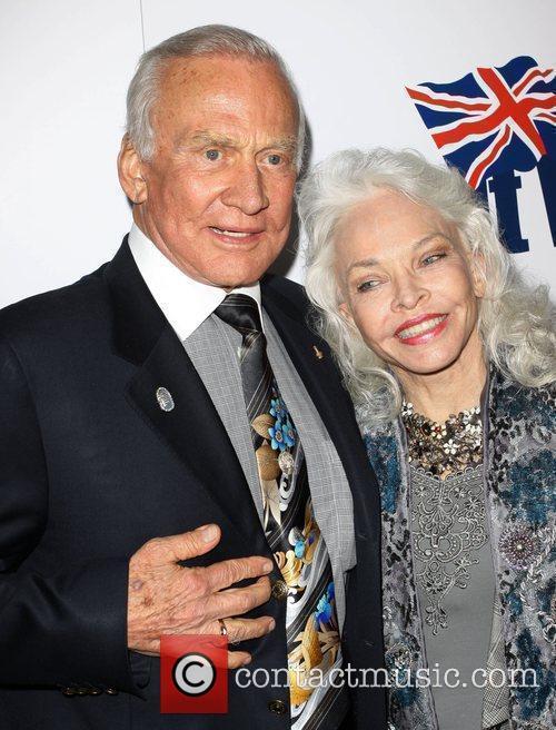 Buzz Aldrin, Lois Aldrin Champagne Launch of BritWeek...