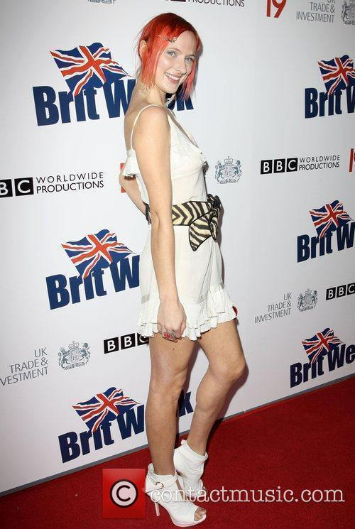 Dominika Wolski Champagne Launch of BritWeek at the...