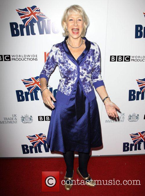 Helen Mirren Champagne Launch of BritWeek at the...