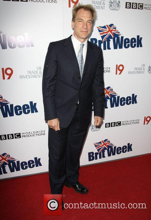 Julian Sands Champagne Launch of BritWeek at the...