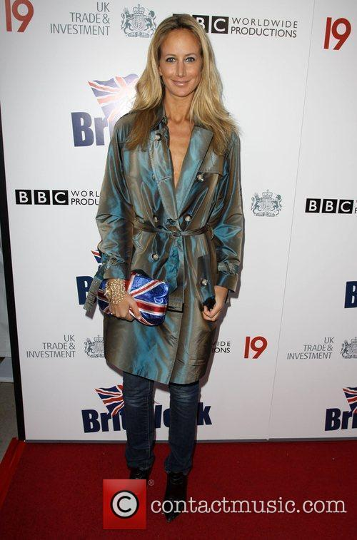 Lady Victoria Hervey Champagne Launch of BritWeek at...