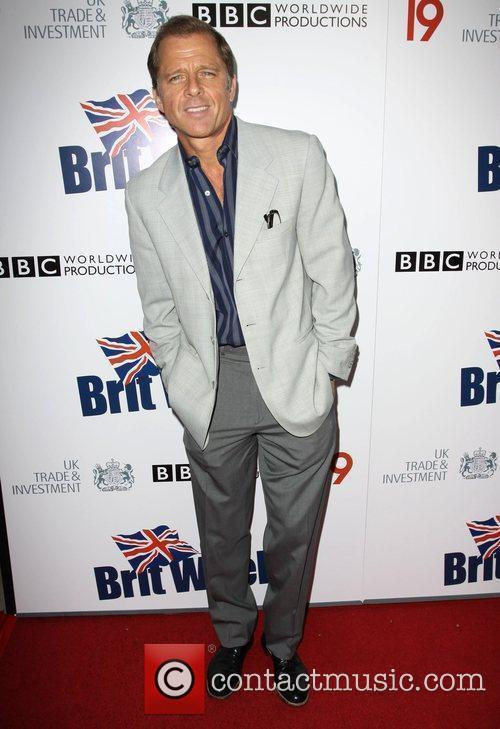 Maxwell Caulfield Champagne Launch of BritWeek at the...