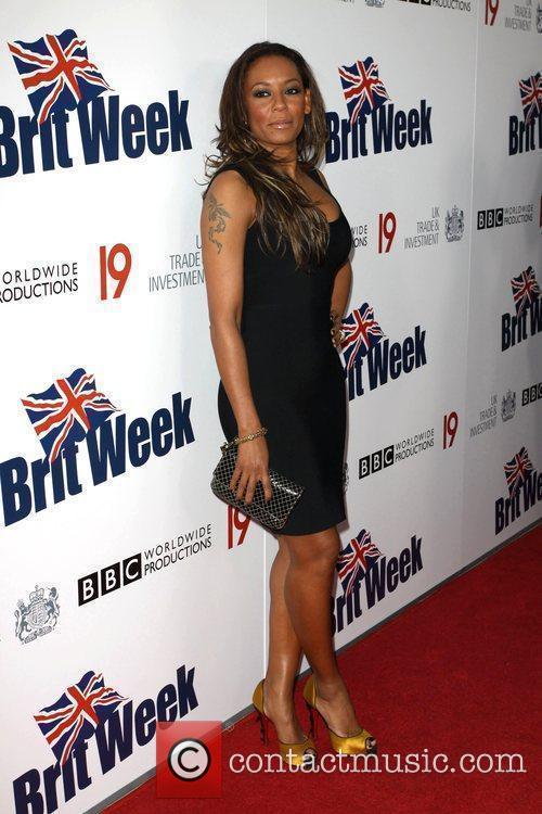 Melanie Brown, aka Mel B Champagne Launch of...