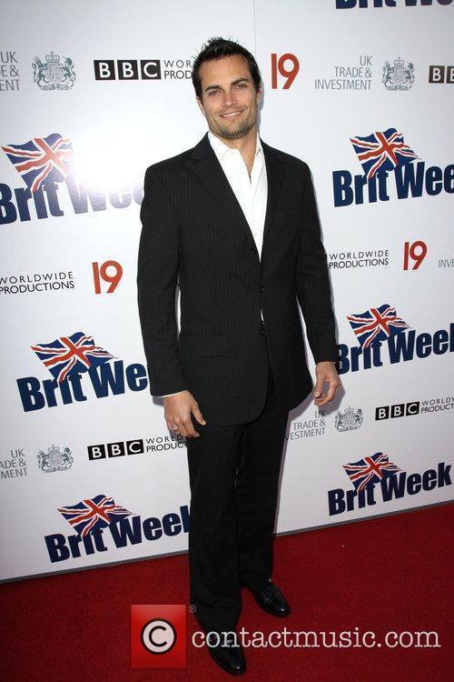 Scott Elrod Champagne Launch of BritWeek at the...