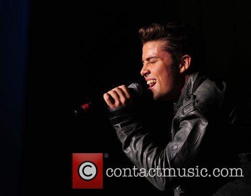 Joe McElderry performs at the BRMB Live 2010...