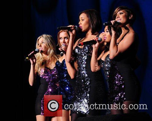 The Saturdays perform at the BRMB Live 2010...