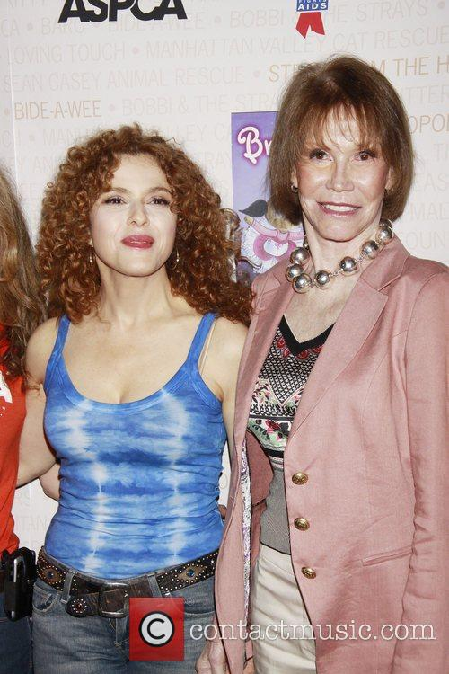 Bernadette Peters and Mary Tyler Moore 8