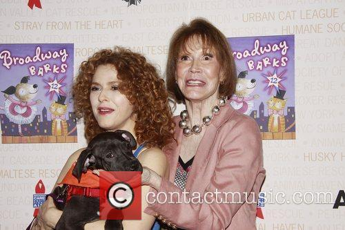 Bernadette Peters and Mary Tyler Moore 9
