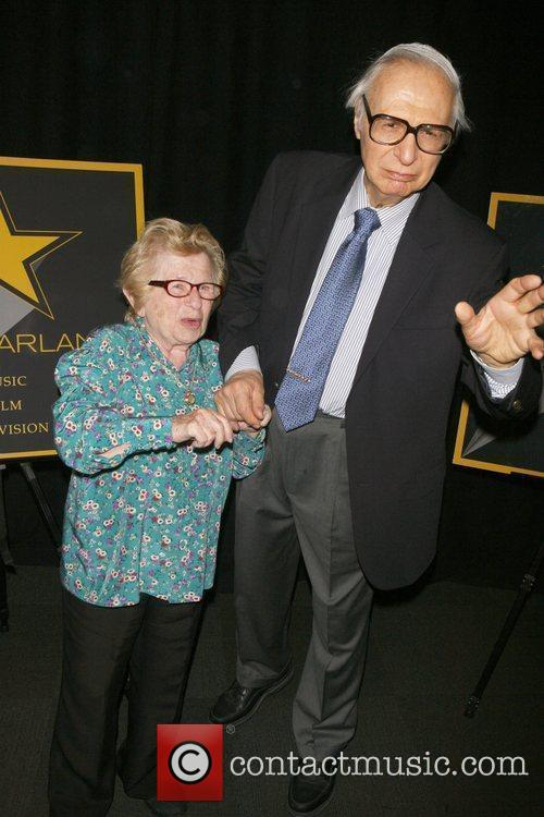 Dr. Ruth, Amazing Kraskin attending a special cocktail...