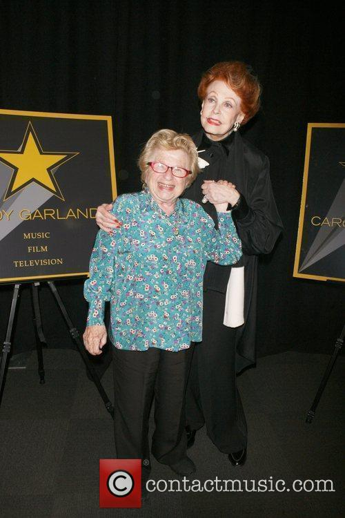 Dr. Ruth, Arlene Dahl attending a special cocktail...