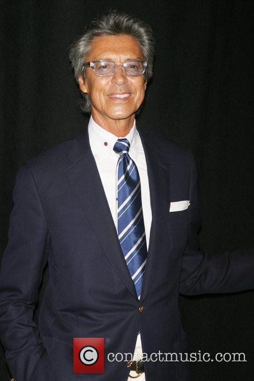 Tommy Tune attending a special cocktail party to...