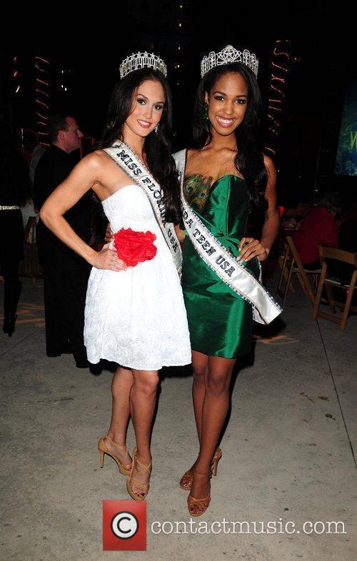 Miss Florida Teen USA Mikyle Crockett and Miss...