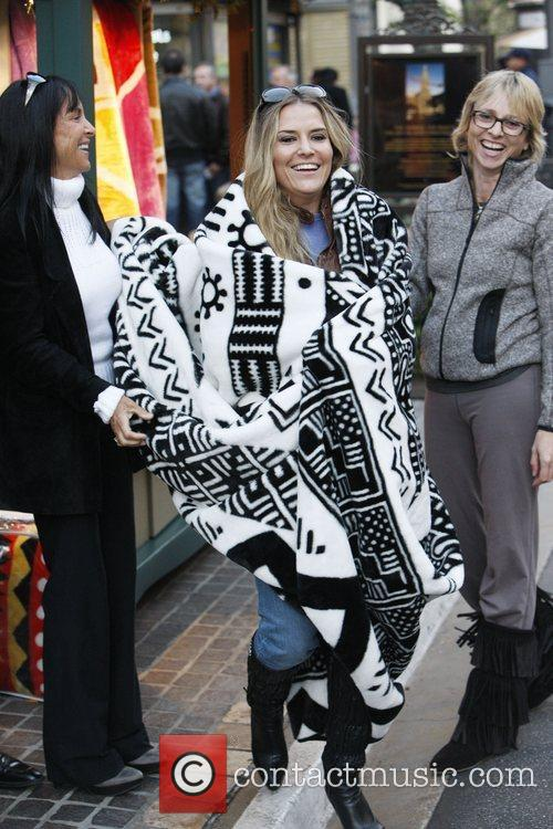 Brooke Mueller was spotted on a family day...