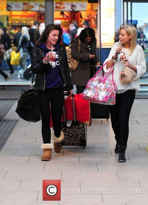 Brooke Vincent and Sacha Parkinson 9