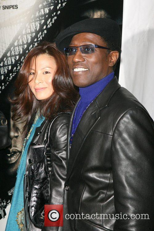 Wesley Snipes and Nikki Park 6