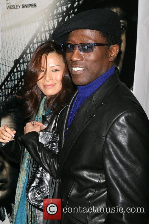 Wesley Snipes and Nikki Park 5