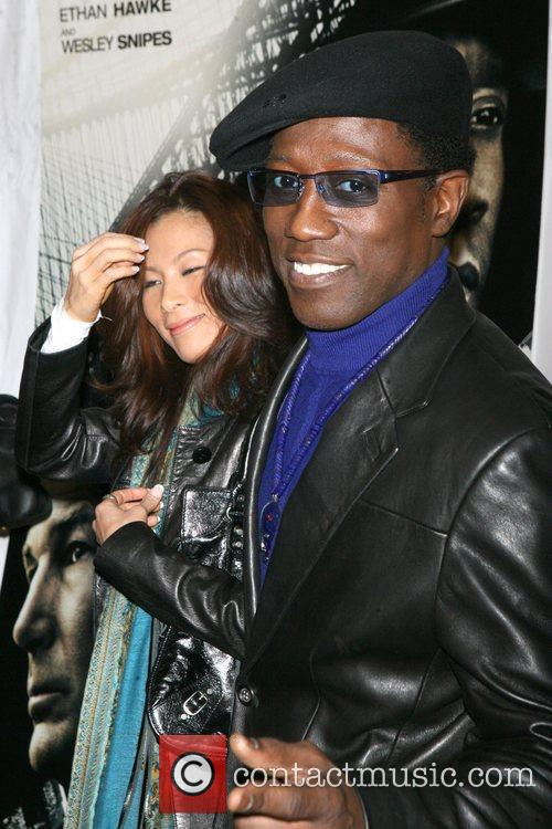 Wesley Snipes and Nikki Park 8