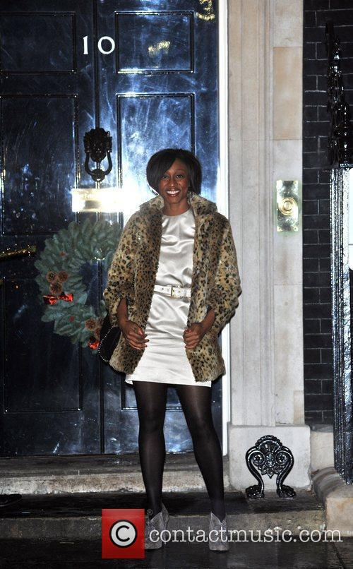 Beverley Knight Sarah Brown's Downing Street Christmas Party....