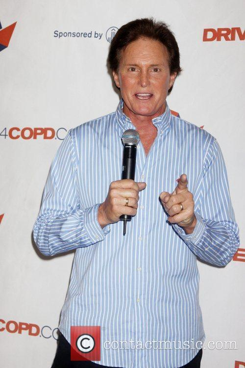 Bruce Jenner  speaks at a National Public...