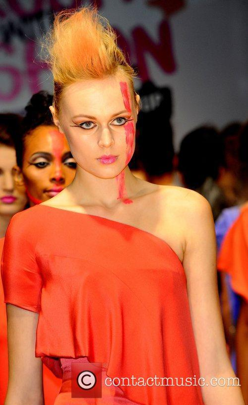 Brush With Fashion catwalk show at the London...