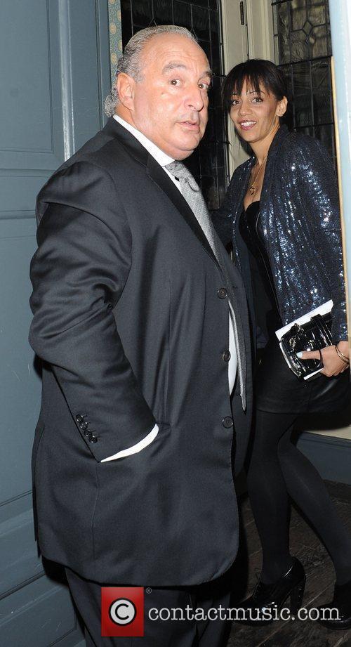 Sir Philip Green,  at Bryan Ferry's album...