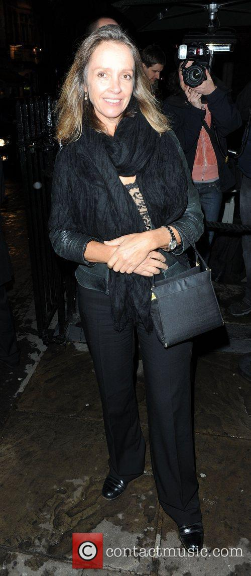 Sabrina Guinness,  at Bryan Ferry's album launch,...