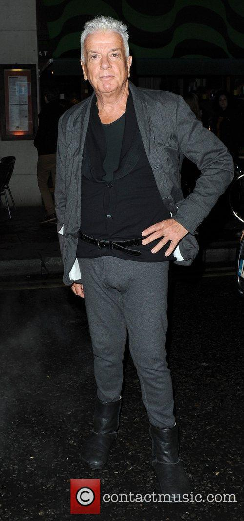 Nicky Haslam,  at Bryan Ferry's album launch,...