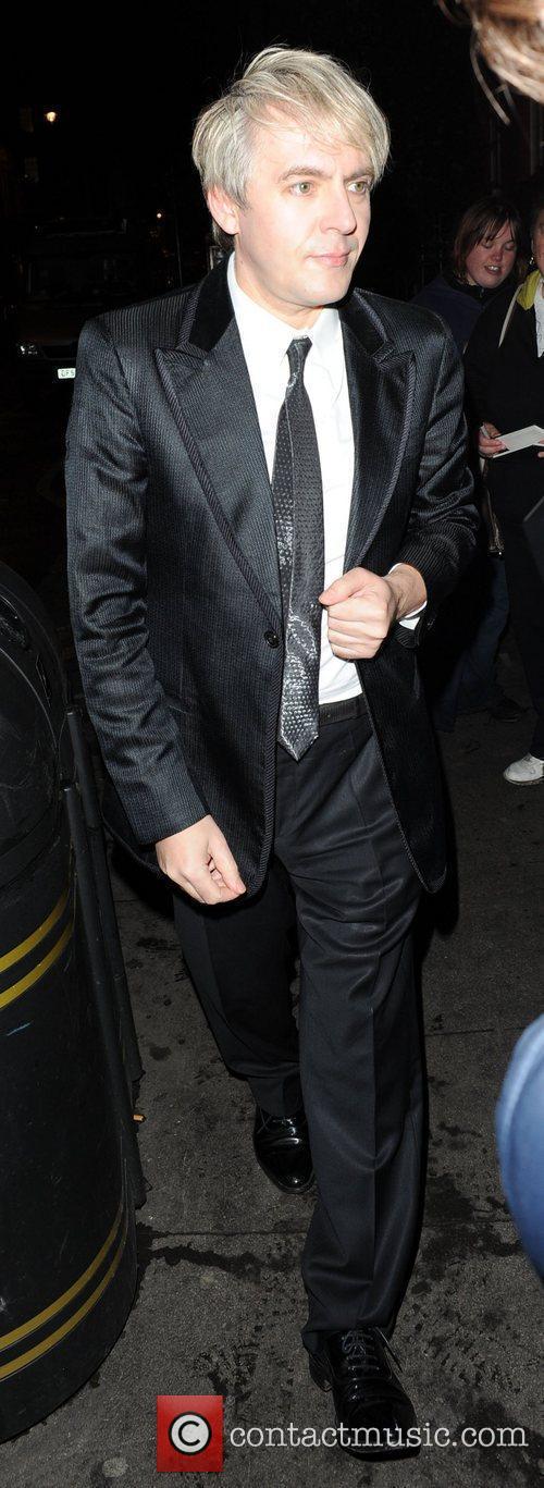 Nick Rhodes,  at Bryan Ferry's album launch,...