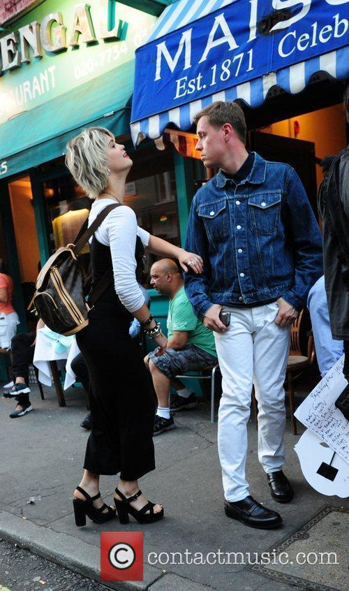 Pixie Geldof, Bryan Ferry and Noel Fielding 6