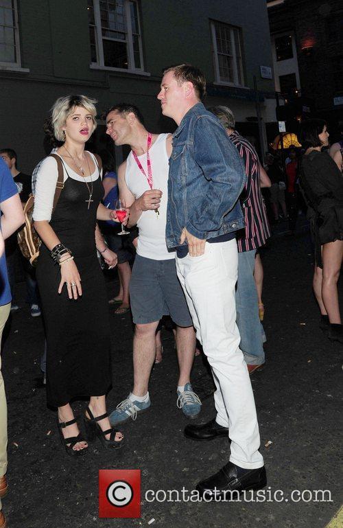Pixie Geldof, Bryan Ferry and Noel Fielding 3