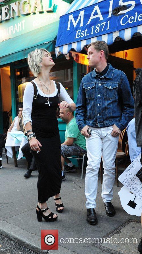 Pixie Geldof, Bryan Ferry and Noel Fielding 4