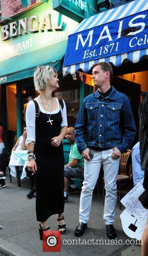 Pixie Geldof, Bryan Ferry and Noel Fielding 7