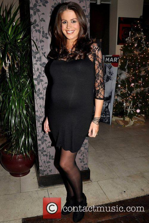 Ali Mcdonnell Christmas party for BScene Model Agency...