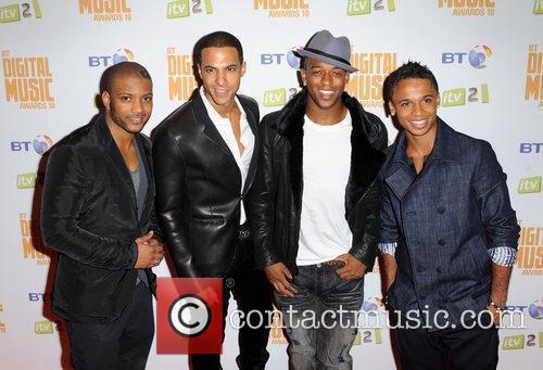 Jonathan 'JB' Gill, Marvin Humes, Oritse Williams and...
