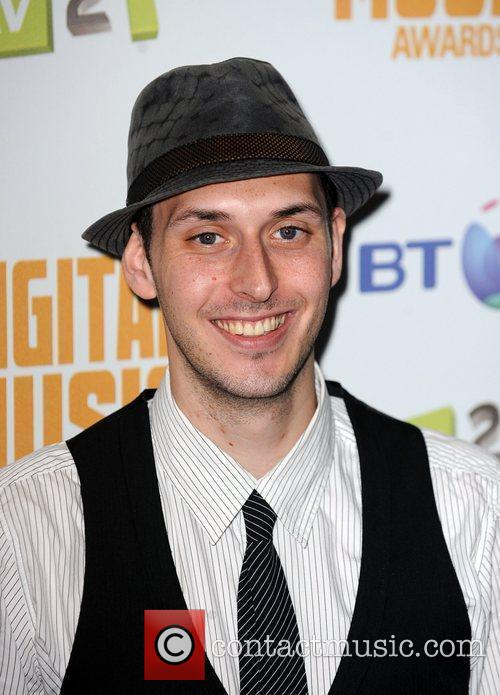 Blake Harrison  at the BT Digital Music...