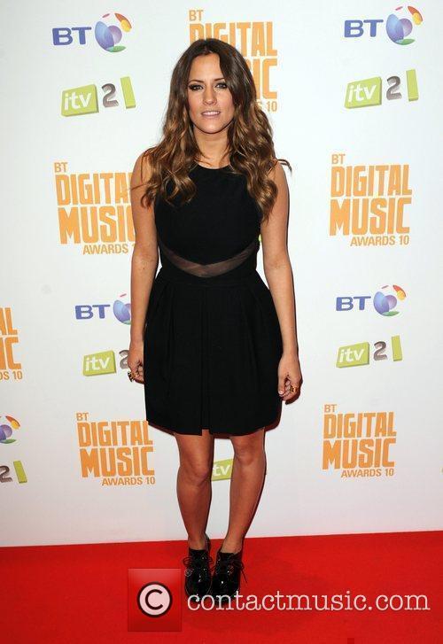Caroline Flack  BT Digital Music Awards at...