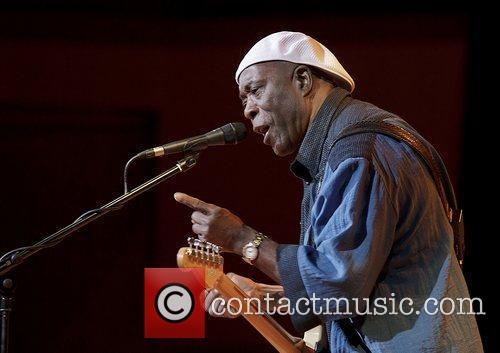 Buddy Guy performing at Manchester Bridgewater Hall