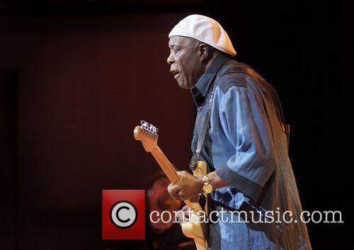 Buddy Guy performing at Manchester Bridgewater Hall Manchester,...