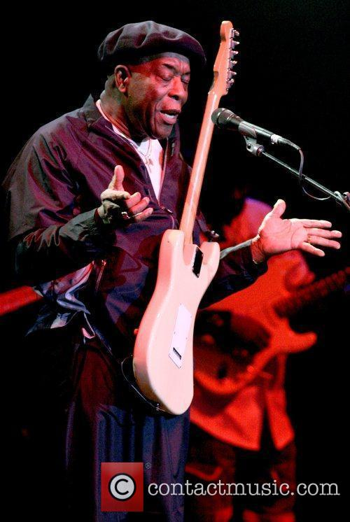 Buddy Guy performs at The Hard Rock Live...