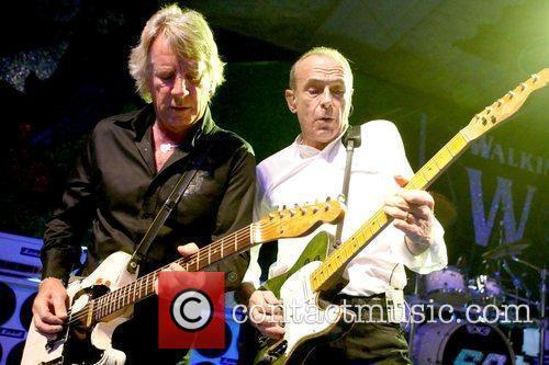 Rick Parfitt and Francis Rossi of Status Quo...