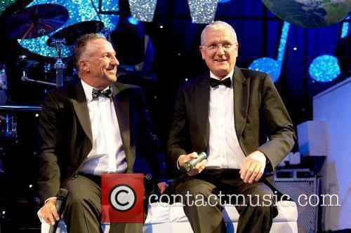 Sir Ian Botham and Bob Wills Nick Hancock...