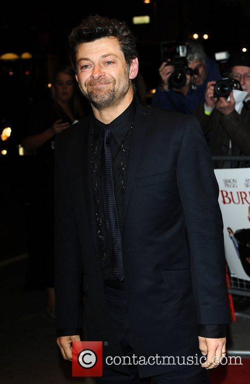 Andy Serkis World premiere of 'Burke and Hare'...